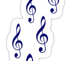 Notes clefs Sticker