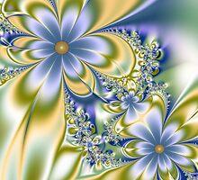 Silky Flowers by delasel