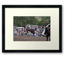 Picton Rodeo BRONC1 Framed Print