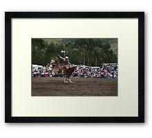 Picton Rodeo BRONC2 Framed Print