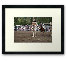Picton Rodeo BRONC5 Framed Print
