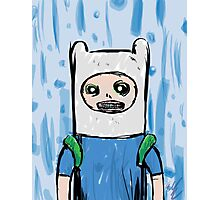 Freaky Looking Finn Photographic Print