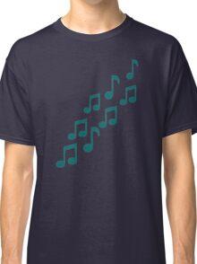 Green notes Classic T-Shirt