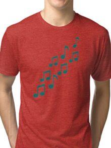 Green notes Tri-blend T-Shirt