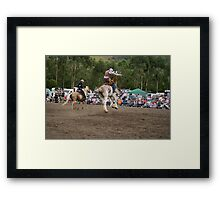 Picton Rodeo BRONC7 Framed Print