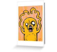 Freaky Looking Jake Greeting Card