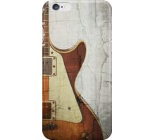 Guitar Vibe 1- Single Cut '59 iPhone Case/Skin