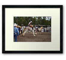 Picton Rodeo BRONC9 Framed Print
