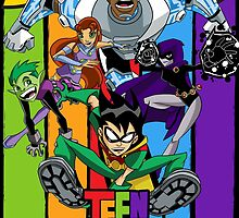 Teen Titans by averagejoeart