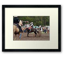 Picton Rodeo BRONC10 Framed Print