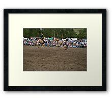 Picton Rodeo BRONC12 Framed Print