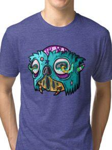 Carnihell #12 Monster head Tri-blend T-Shirt