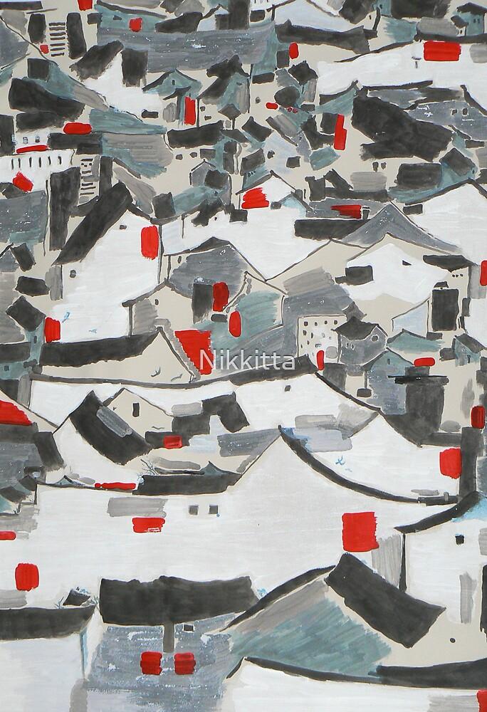 Hutong Abstraction by Nikkitta