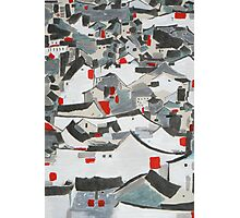 Hutong Abstraction Photographic Print
