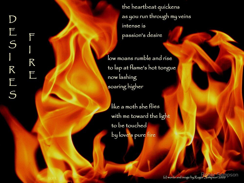 Desire's Fire by Roger Sampson