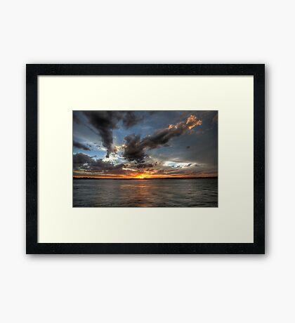 Noosa Sunset Framed Print