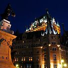 Fairmont Chateau Frontenac, Quebec by C1oud