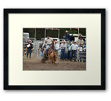 Picton Rodeo ROPE4 Framed Print