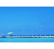 pier cayman islands caribbean  Photographic Print