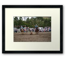 Picton Rodeo ROPE11 Framed Print