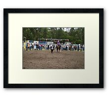 Picton Rodeo ROPE13 Framed Print