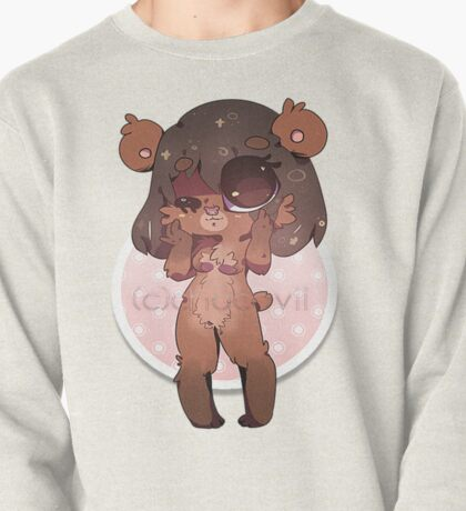 KAWAII chocovii Furry Chibi Mascot Pullover