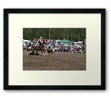 Picton Rodeo ROPE15 Framed Print