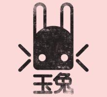 Jade Rabbit Insignia grunge black Kids Clothes