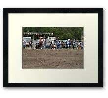 Picton Rodeo ROPE16 Framed Print
