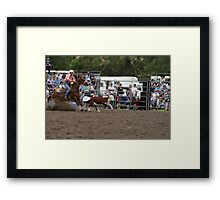 Picton Rodeo ROPE18 Framed Print