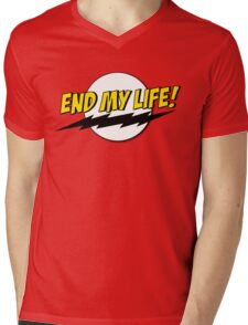 End My Life! Mens V-Neck T-Shirt