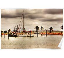 """Bowen Boat Harbour"" Poster"