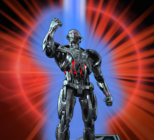 Avengers: Age of ULTRON (TRON Poster) Sticker
