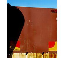 Rust Shadow Photographic Print