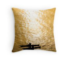 Into the Mystic Throw Pillow