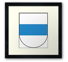 Coat of Arms of Zug Canton Framed Print