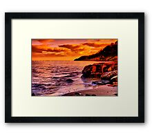 """""""Remnants of a Relaxing, Refreshing Pastime"""" Framed Print"""