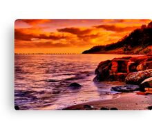 """""""Remnants of a Relaxing, Refreshing Pastime"""" Canvas Print"""