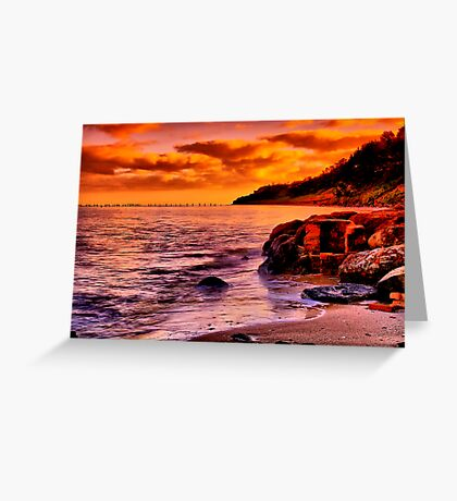 """""""Remnants of a Relaxing, Refreshing Pastime"""" Greeting Card"""