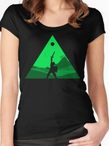 The Hero of Time Women's Fitted Scoop T-Shirt