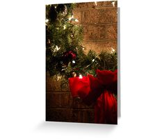 Christmas Wreath Greeting Card