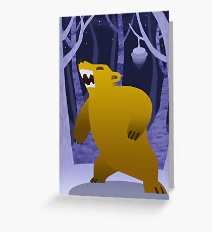 The Honey Bear Greeting Card