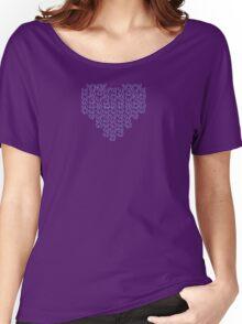 Knitting Knit Love Heart Women's Relaxed Fit T-Shirt