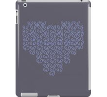 Knitting Knit Love Heart iPad Case/Skin