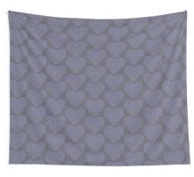 Knitting Knit Love Heart Wall Tapestry