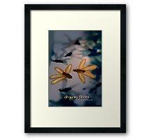 Dragon Floats © Vicki Ferrari Framed Print