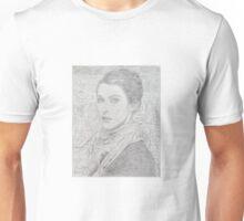 Self portrait with a Lion Mosaic Unisex T-Shirt