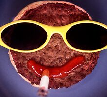 Cool Hamburger by Roger Otto