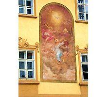 Prague mural Photographic Print