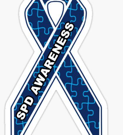 SPD Awareness Ribbon Sticker
